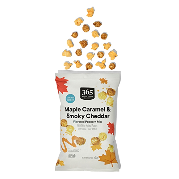 365 by Whole Foods Market Maple Caramel & Smoky Cheddar Flavored Popcorn Mix
