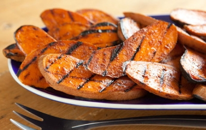 Spice-Grilled Sweet Potatoes