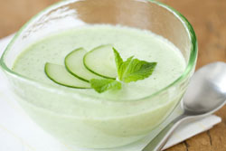 Cucomber Mint Soup