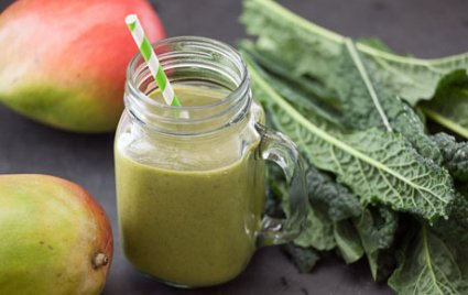 Get Over It Green Protein Shake