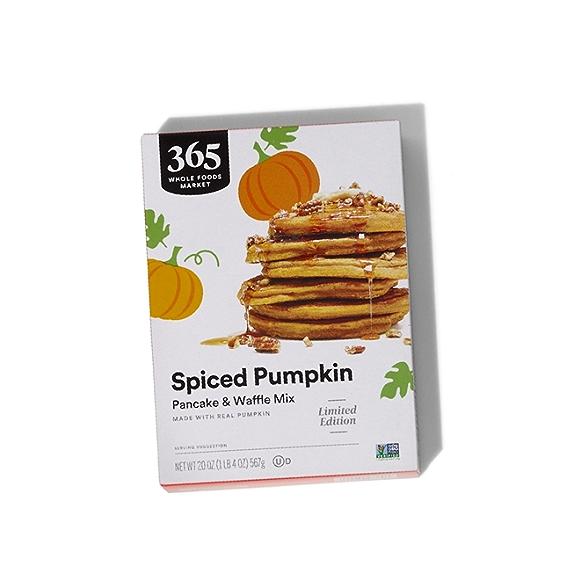 365 by Whole Foods Market Spiced Pumpkin Pancake & Waffle Mix