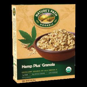Nature's Path Organic Hemp Plus Granola