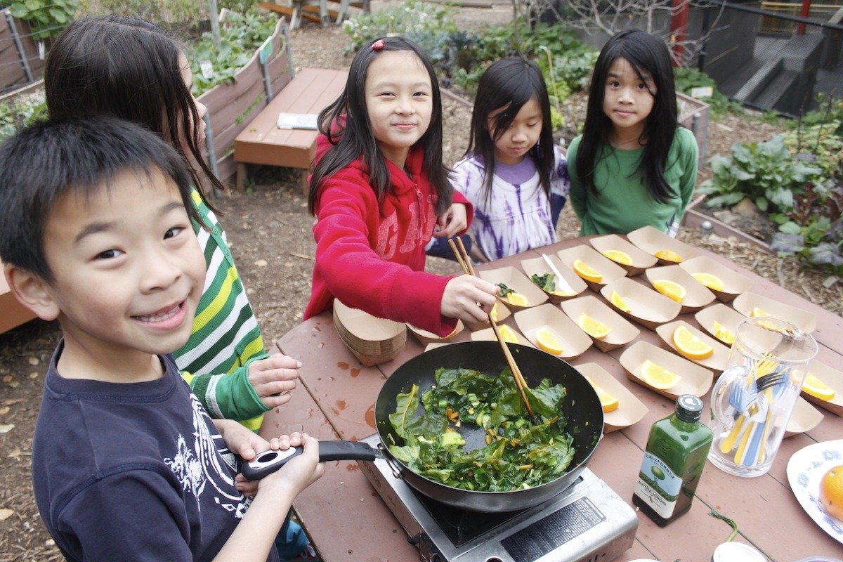 Chard Cooking School with Alice Fong