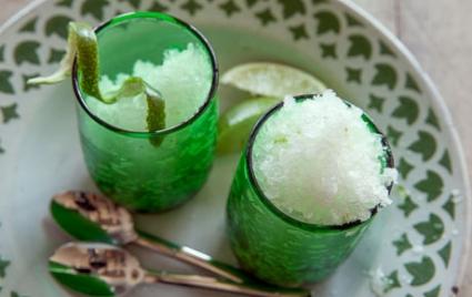 Easiest Lime Granita