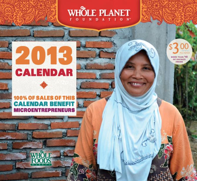 Whole Planet Foundation 2013 Calendar