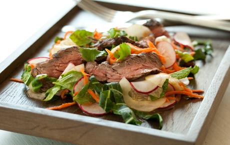 Grilled Steak with Thai Summer Salad