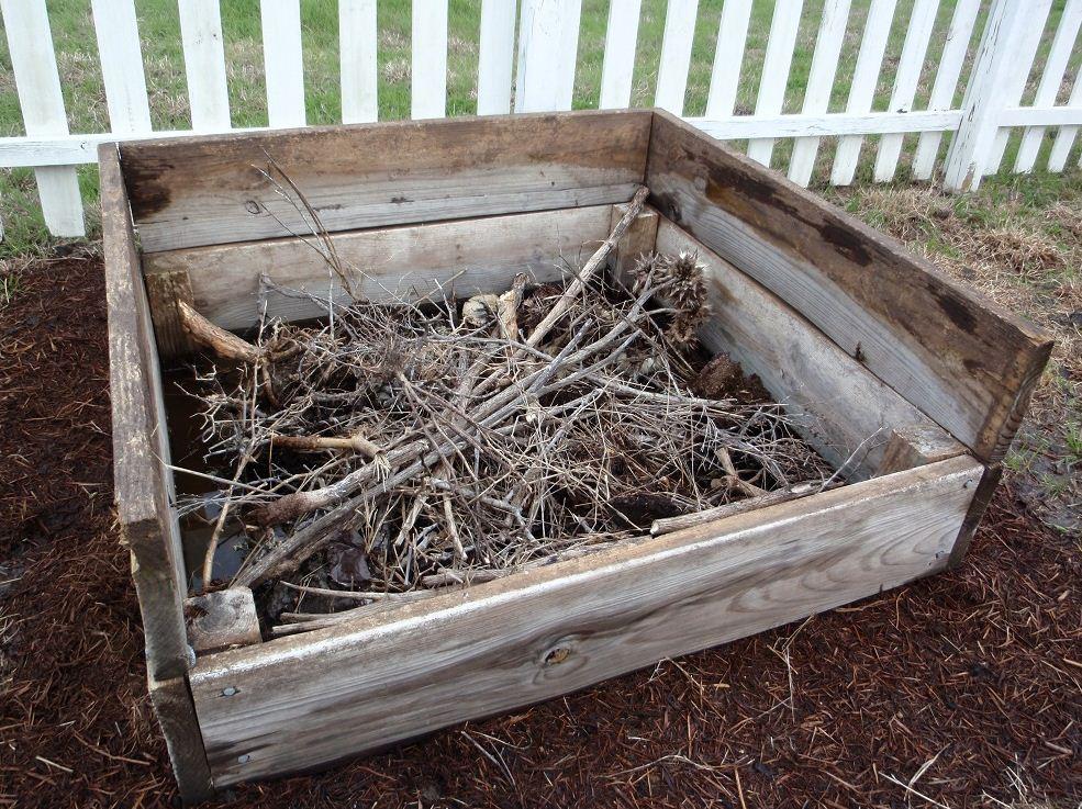 Compost Bin; Photo by Cecilia Nasti
