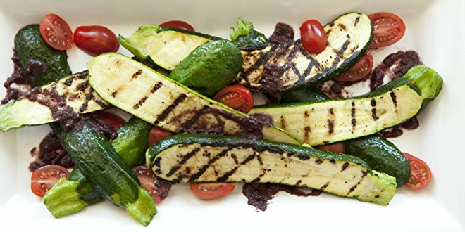 Image of grilled zucchini.