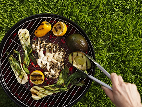 Image of veggies on a grill