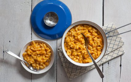 Easy Red Lentil Mac and Cheese
