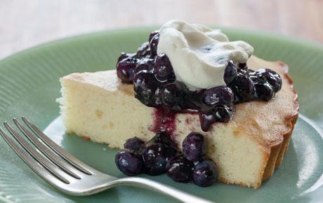 Chilean Blueberry Kuchen
