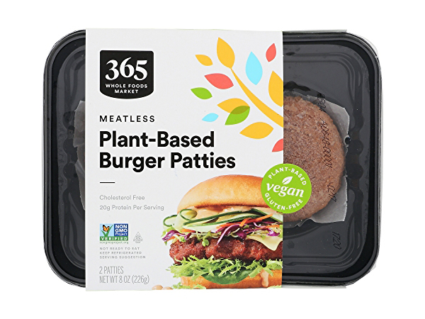 365 by Whole Foods Market plant based burger