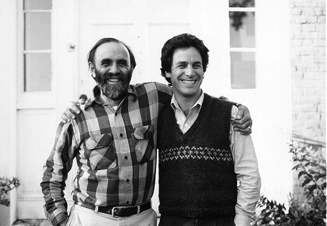 Samuel Kaymen and Gary Hirshberg