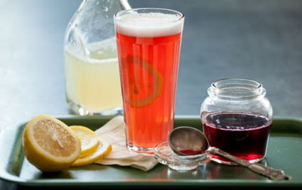 The Hibiscus Shandy