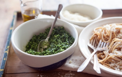 Winter Greens Pesto