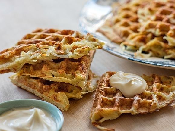 Recipe: Waffled Latkes