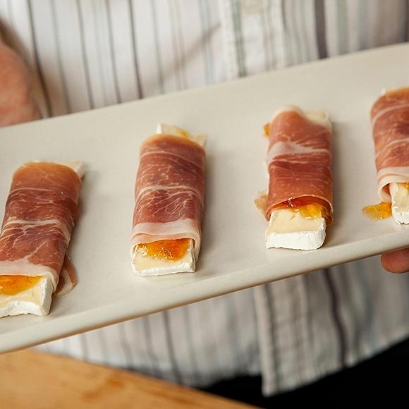 Prosciutto, Brie, and Apricot Rollups Recipe
