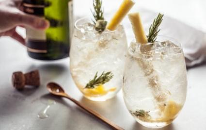 Pineapple Rosemary Crush Cocktails