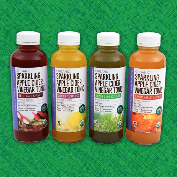 Whole Foods Market™ Organic Sparkling Apple Cider Vinegar Tonics