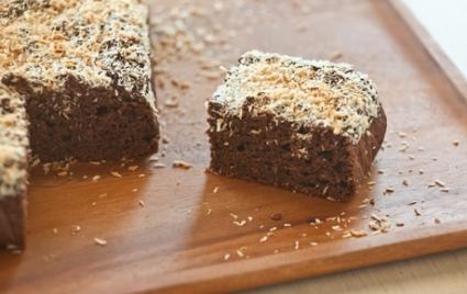 Banana Cocoa Snack Cake