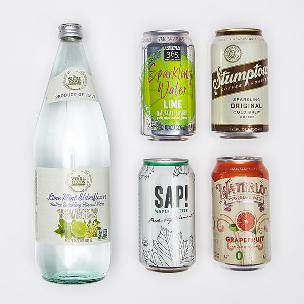 Sparkling beverages