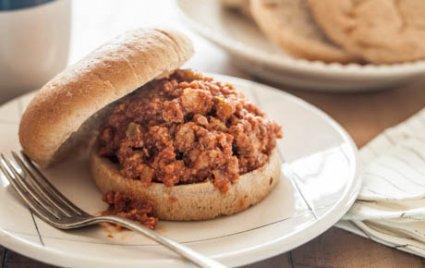 Slow Cooker Ham and Turkey Sloppy Joes