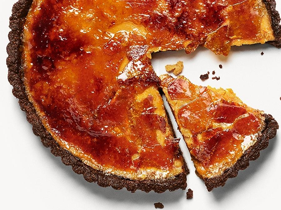 Recipe: Pumpkin Brulee Tart
