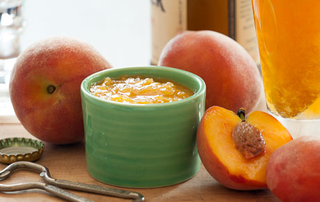 Honeyed Peach Syrup