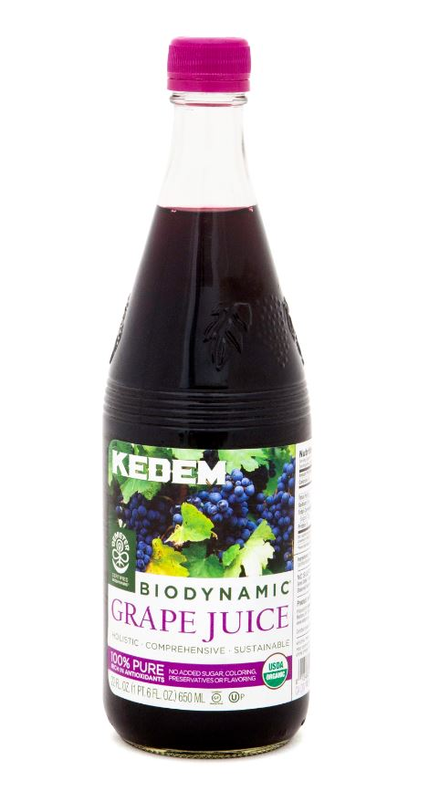 Kedem Organic Biodynamic® Grape Juice