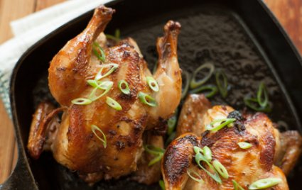 Szechuan Cornish Hens