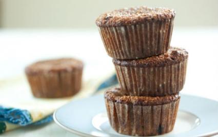 Cherry Pecan Bran Muffins