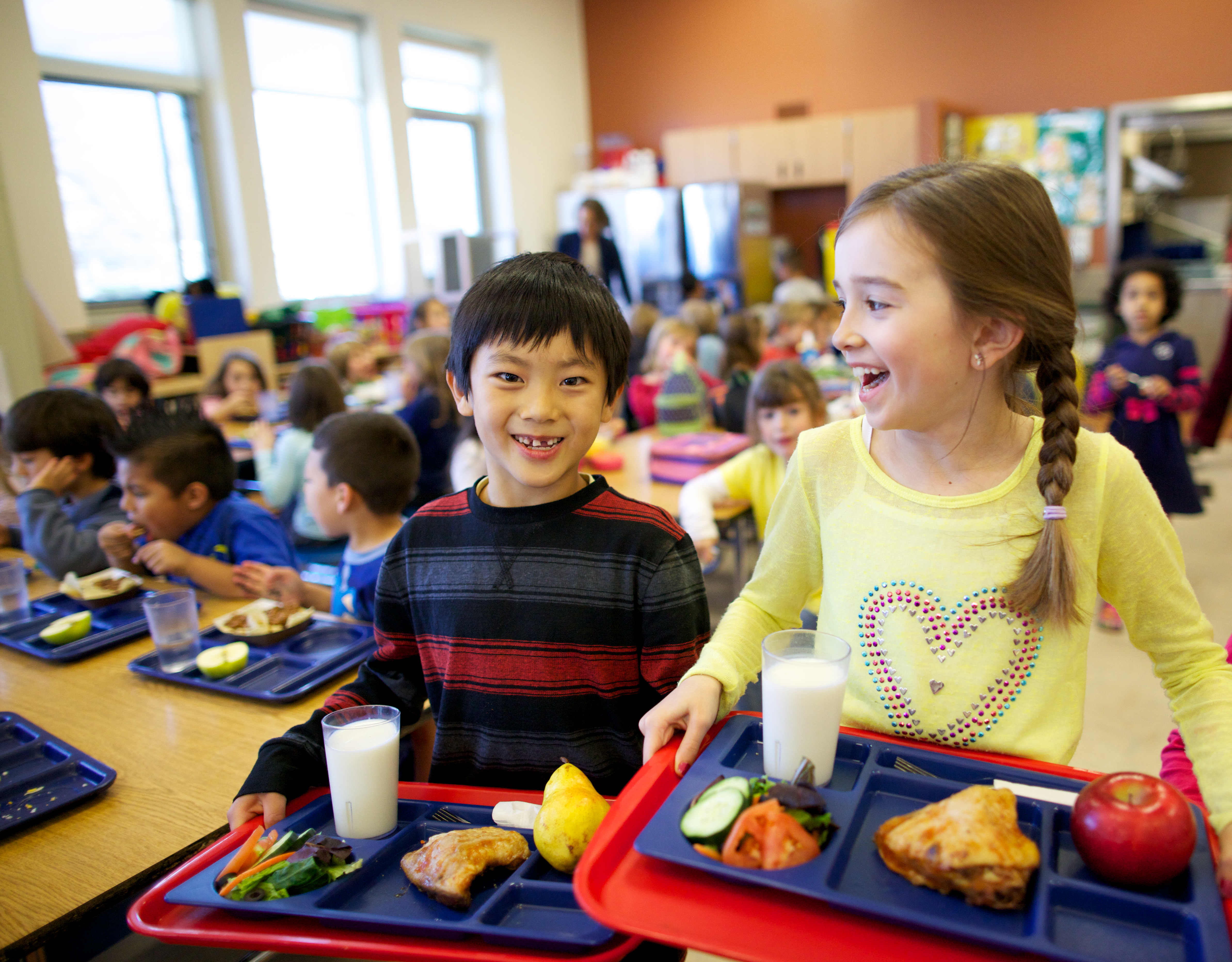 Whole Kids Foundation; Kids At Lunch in School