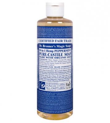 Dr. Bronner's Organic 18-in-1 Hemp Pure-Castile Soap