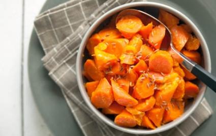 Mandarin-Glazed Carrots