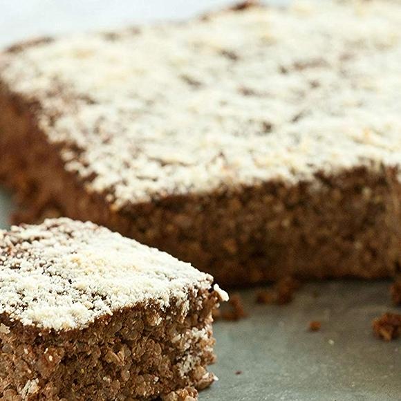 Cocoa almond baked breakfast quinoa recipe image
