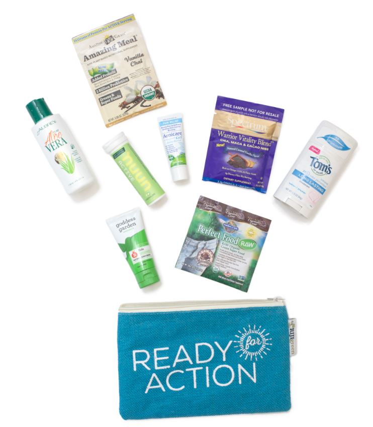 Ready for Action Summer Survival Kit available starting on June 27, 2015 for a limited time.