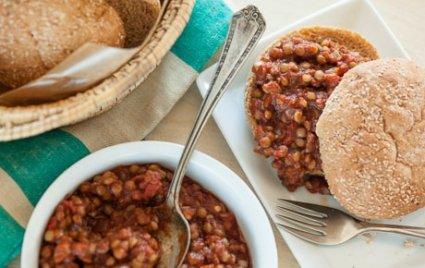 vegan lentil sloppy joes recipe