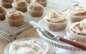 Frosted Spice Cupcake