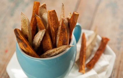 Sweet-and-Smoky Spiced Fries