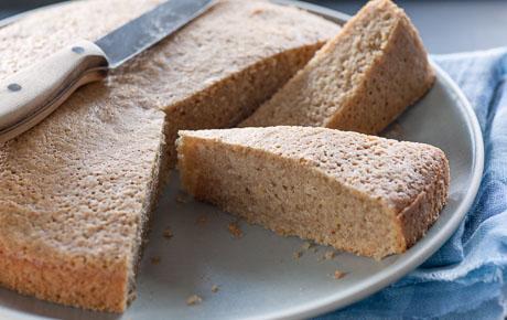 Cinnamon-Almond Olive Oil Cake