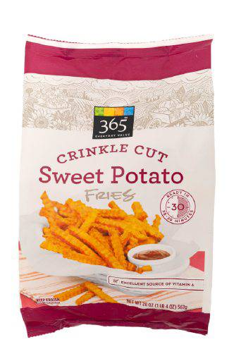 365 Everyday Value Crinkle Cut Sweet Potato Fries