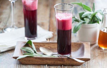 Honey Beet Mocktails