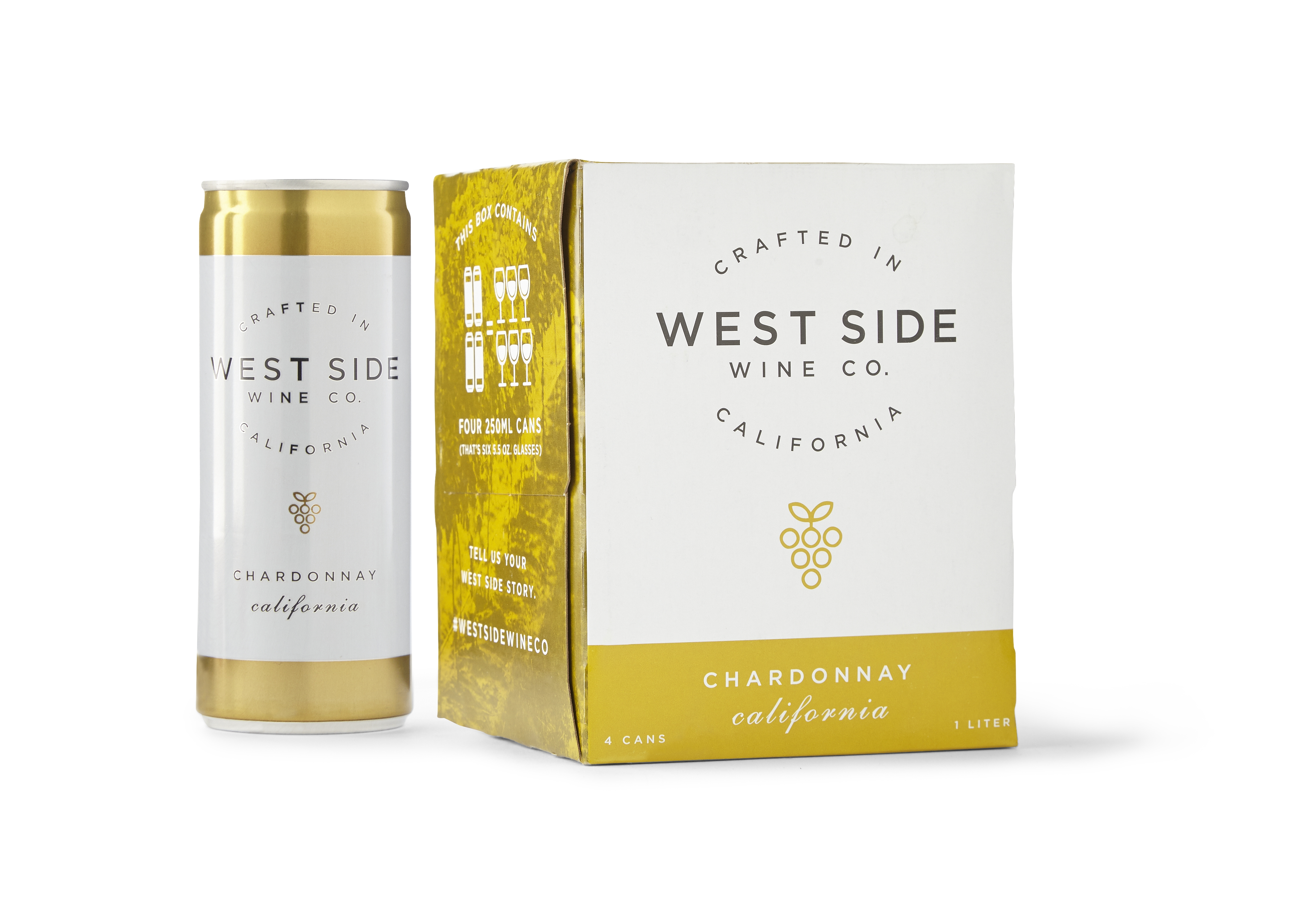West Side Wine Co. Canned Chardonnay