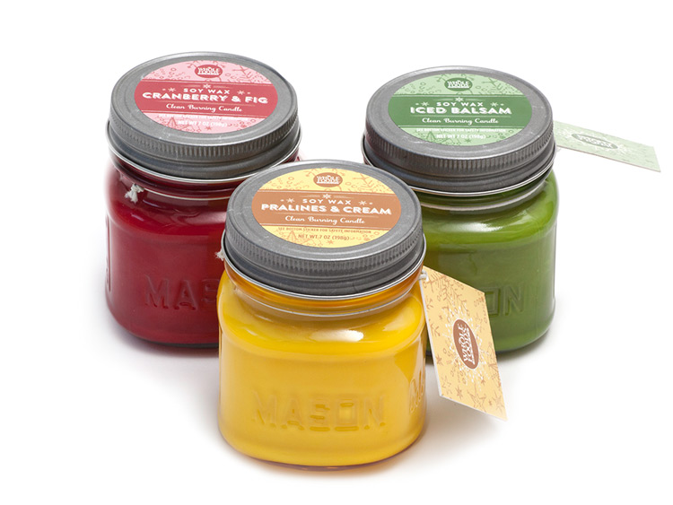 Whole Foods Market™ Soy Candles In Mason Jars