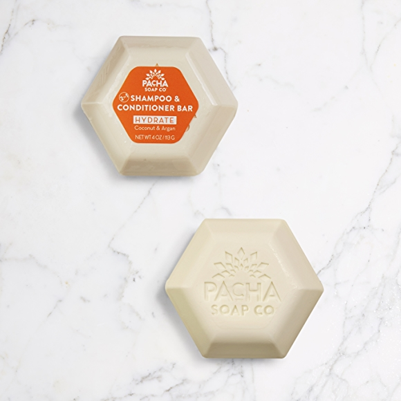 pacha shampoo and conditioner soap bars