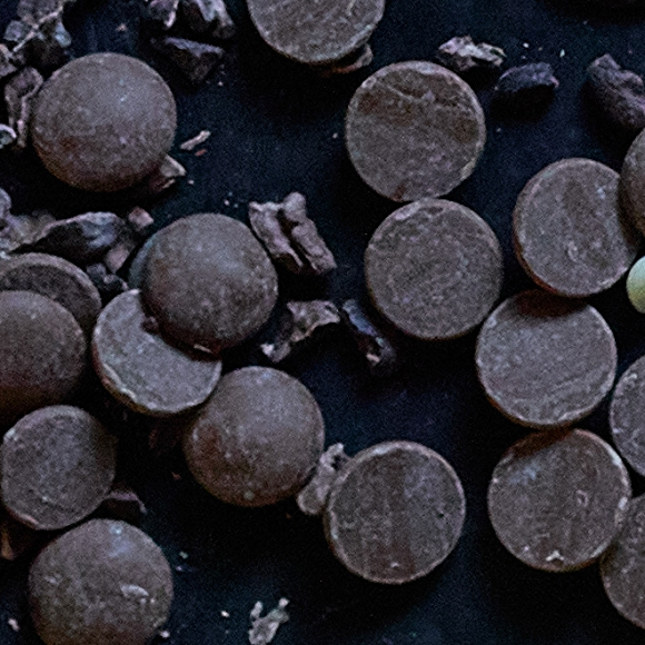 Semi-sweet chocolate discs