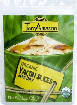 TerrAmazon Yacon Slices