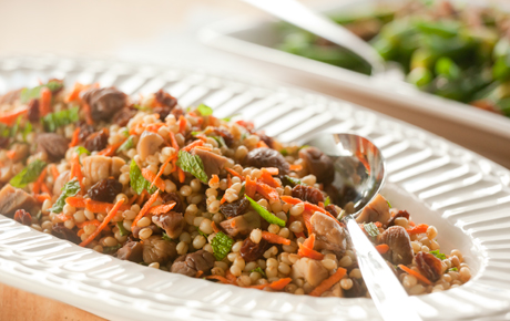 Chestnut and Wheat Berry Salad