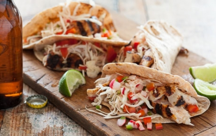 Grilled Paiche Tacos with Pickled Veggies | Whole Foods Market