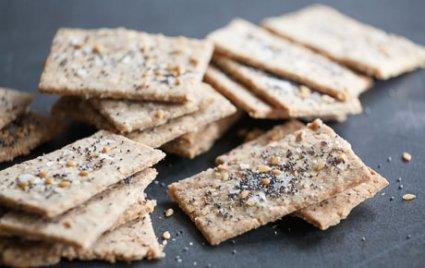 Seeded Coconut Crackers